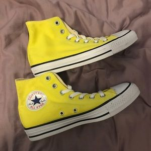 Brand New - Canary Yellow Converse